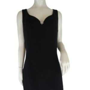 St John Dress Navy Below Knee Size 10 SKU 000282-1